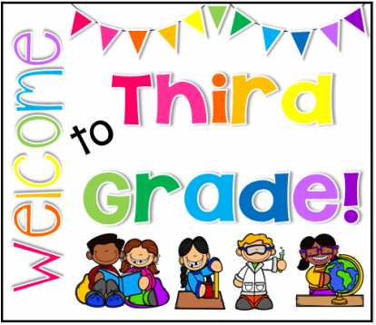 Welcome to the Third Grade!